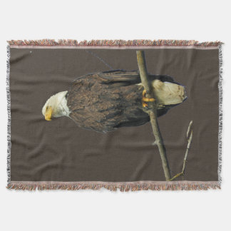 throw blanket w/ eagle
