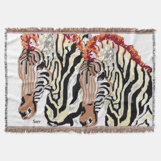 Throw Blanket Zebra's