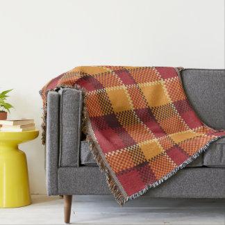 Throw Blankets. check / plaid / Tartan
