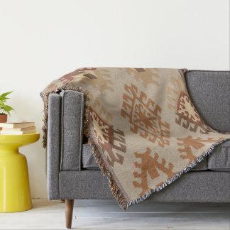 Throw Blankets. Classic Kilim Pattern