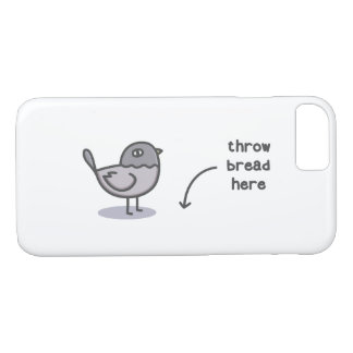 Throw Bread Here iPhone 8/7 Case