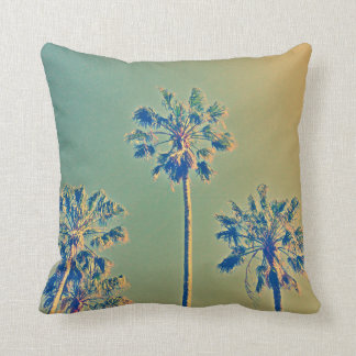 Throw cushion Rose Bay palm tree