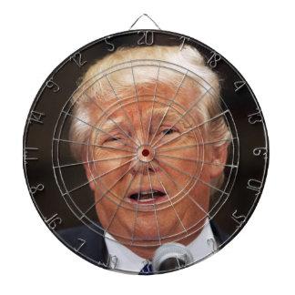 Throw darts at Donald Trump Dartboards