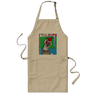 Throw Mud Long Apron