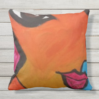 """Throw Pillow 20"""" x 20"""", By Monet D."""