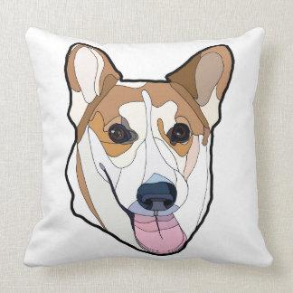 Throw Pillow Cardigan Welsh Corgi