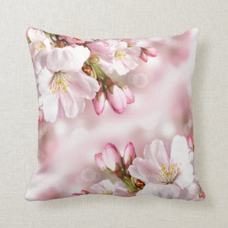 Throw Pillow-Cherry Blossoms Cushion