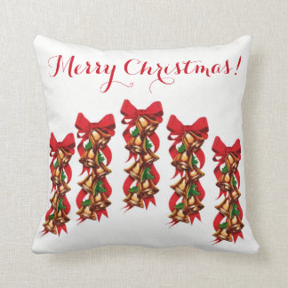 Throw Pillow, Christmas Pillow, New Year Pillow
