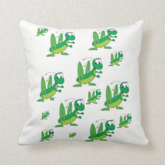 throw pillow decore grasshoppers