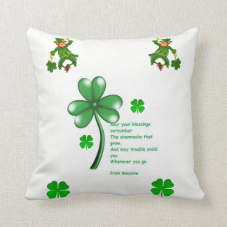throw pillow decore saint patricks