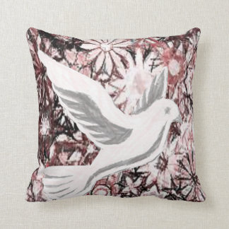 Throw Pillow Dove