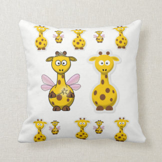 Throw Pillow Giraffe