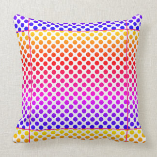 Throw Pillow -Happy Colorful design