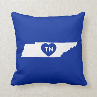 Throw Pillow I Love Tennessee State