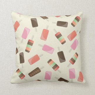 Throw Pillow - ice cream