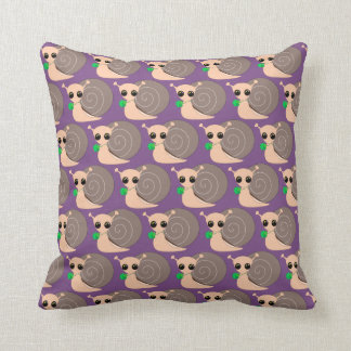 Throw Pillow - Lucky Snail +
