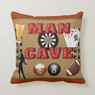 Throw pillow - man cave