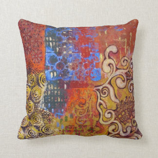 "Throw pillow ""Oriental day'"