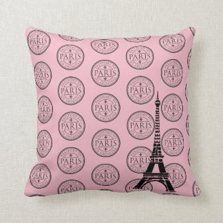Throw Pillow-Paris Cushion