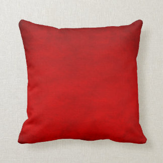 Throw Pillow - Smudge Red Throw Cushions