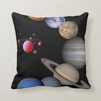 throw pillow space