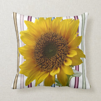 Throw Pillow Sunflower