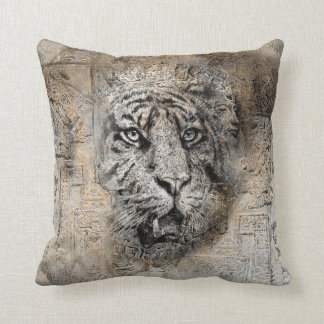 Throw Pillow with amazing Tiger Design Throw Cushions