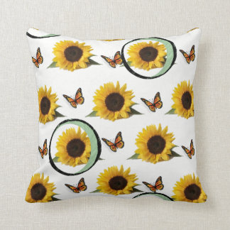 Throw Pillows Sunflower