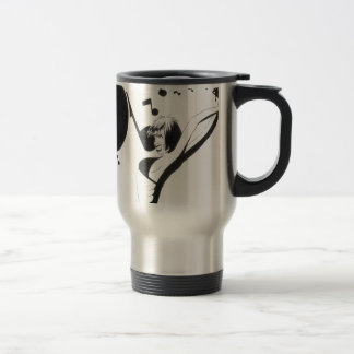 Throw some music. travel mug