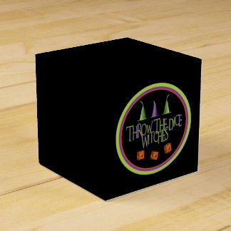 Throw The Dice Witches Bunco Box
