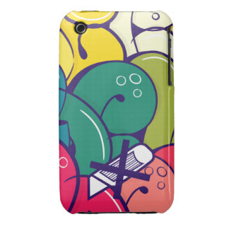 Throw Up Case-Mate iPhone 3 Cases