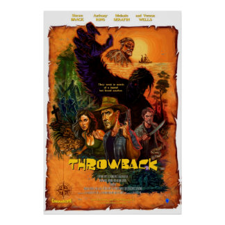 """""""Throwback"""" One-Sheet Movie Poster"""