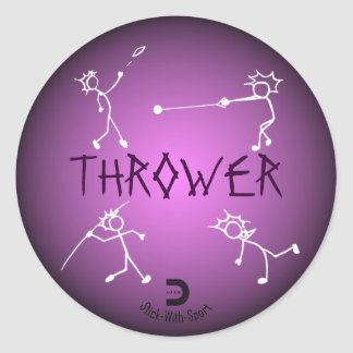 Thrower Sticker Purple