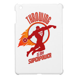 throwing discus is my superpower iPad mini case