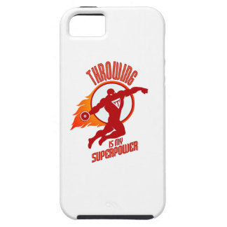 throwing discus is my superpower iPhone 5 cover