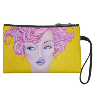 Throwing Shade Fine Art Print Makeup Bag Clutch