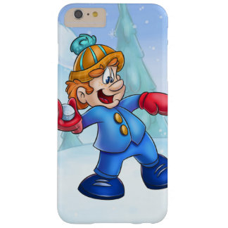 throwing snowball boy cartoon barely there iPhone 6 plus case