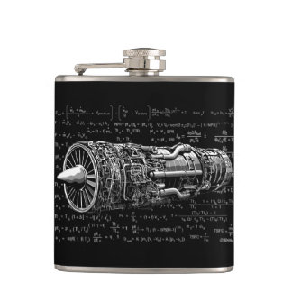 Thrust matters! hip flask