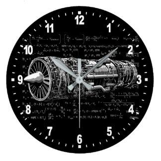 Thrust matters! large clock