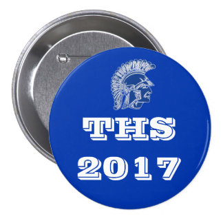 THS Tremper High School 2017 7.5 Cm Round Badge