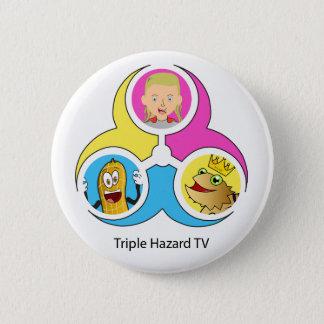 THTV Logo Bagde 6 Cm Round Badge