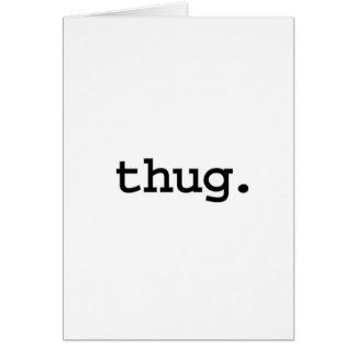 thug. card