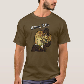 Thug Life Dinosaur T-Shirt
