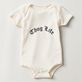 THUG LIFE for babies Baby Bodysuit