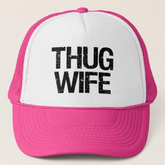 Thug Wife funny Trucker Hat
