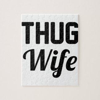 Thug Wife Jigsaw Puzzle