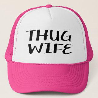 Thug Wife women's funny trucker hat