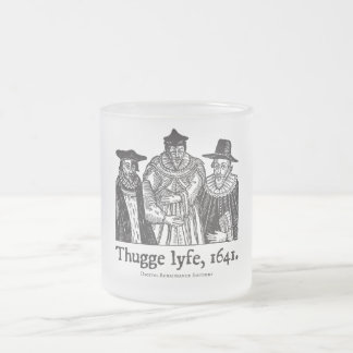 Thugge lyfe (mug) frosted glass coffee mug