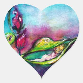 THUMBELINA,heart Heart Stickers