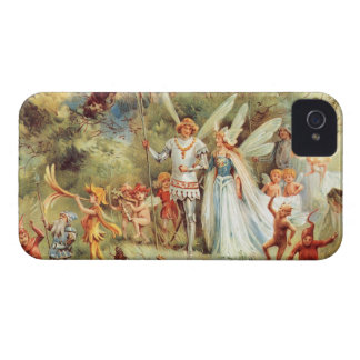 Thumbelina's Wedding in the Forest iPhone 4 Case